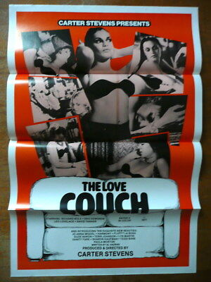 The Love Couch Sexploitation 1 Sheet Movie Poster 1970's Unused