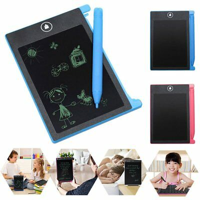 4.4-inch LCD EWriter Paperless Memo Pad Tablet Writing Drawing Graphics Board QW