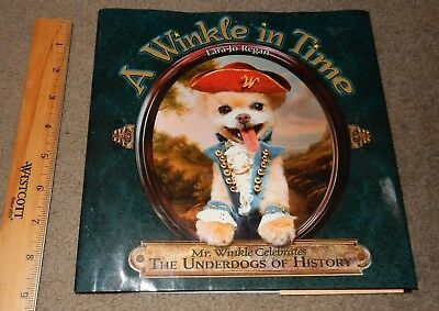 A Winkle In Time  Adorable Pomeranian Photo Book About Underdogs Of History
