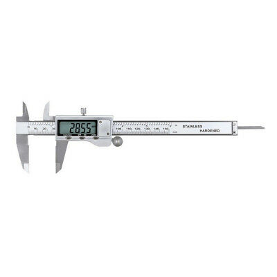 """6"""" 150mm Stainless Steel Digital Vernier Electronic Caliper Micrometer Guage HY"""