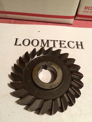 Newly Resharpened 4 X 1/2 X 1-1/4 Side Milling Cutter Slitting Saw Hs Cleveland