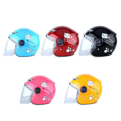 Cute Children Motorcycle Helmet Warm Comfortable Motor Safety Scooter
