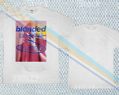 LIMITED NEW GILDAN T-SHIRT Blonded Frank Ocean FYF Los Angeles tour Concert 2018