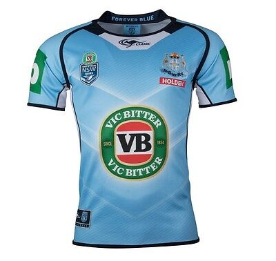 NSW Blues State Of Origin 2017 Premium Jersey Mens, Ladies, Kids & Infant Sizes2