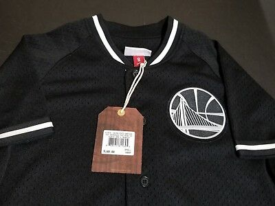 quality design 0c50d 3b11e GOLDEN STATE WARRIORS Mitchell and Ness Baseball Jersey Sizes, S, M, NWT