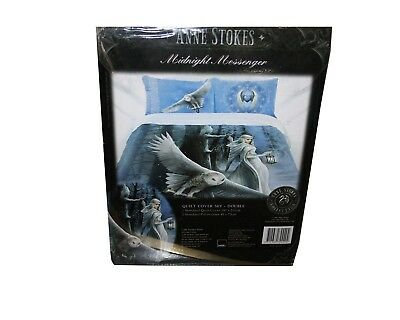 Ann Stokes Quilt Cover Set, Double Size. Midnight Messenger. Brand New.