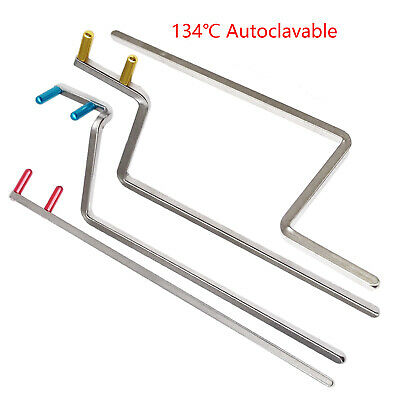 Dental Instruments X Ray Holder Bite Wing Aiming Metal Bar 4 Sizes