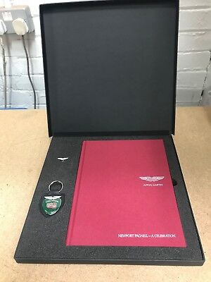 Aston Martin - Newport Pagnell - A Celebration History Book - Gift Pack