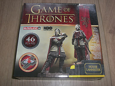 Game of Thrones House Lannister Banner Pack Bauset Set McFarlane Toys