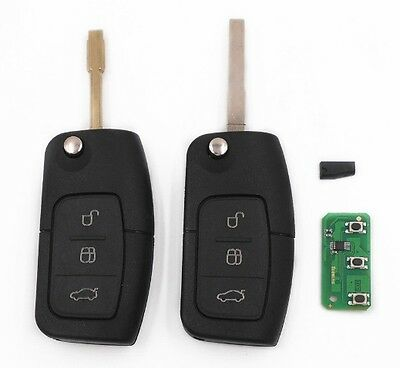 Control distance ford c max s max focus mondeo fiesta galaxy 3 buttons 433 mhz