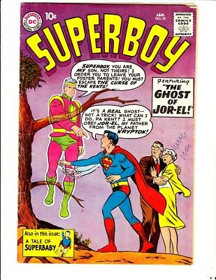 Superboy 78 (1960): FREE to combine- in Good/Very Good condition