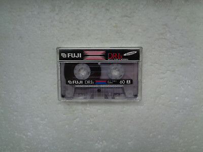 Vintage Audio Cassette FUJI DRI-x 60 From 1995 - Excellent Condition !