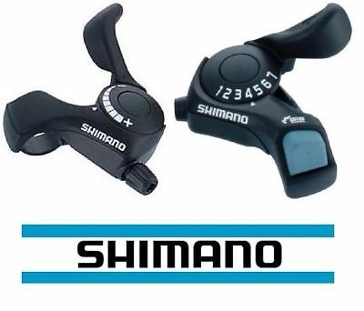 Shimano Tourney SL-TX30 Thumb Gear Shifters 3,6,7 Speed Shift Lever and Set