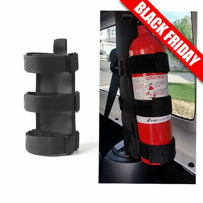 Universal Car Auto Fire Extinguisher Bottle Fixed Holder For Jeep Wrangler TJ YJ