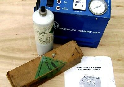 General Electric Ge 1642 Refrigerant Recovery Pump Usa