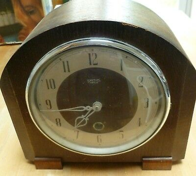 smiths mantle wooden clock spares repair