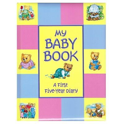 My Baby Book A First Five Year Illustrated Diary & Scrapbook Keepsake Record