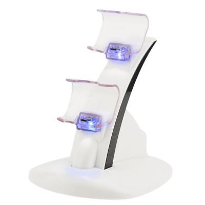 LED Charger Dock Station USB Fast Charging Stand for PlayStation Controller UP