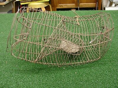Vintage Antique Wire Metal Rat-Mouse Live Trap NO KILL - AS IS AS FOUND