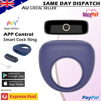 APP Voice Control Cock Ring USB Dante Smart Wearable Ring Sex Toy Waterproof