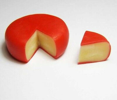 Dollhouse Miniature Edam Cheese * Doll Mini Tiny Food Cute Slice Bakery Kitchen