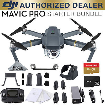 2b81b7c5815 DJI MAVIC Pro Platinum Quadcopter Drone with 4K Camera and Wi-Fi ...