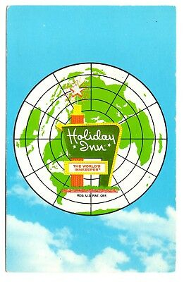 Holiday Inn Capitol Hill Postcard Nashville Tennessee World's Innkeeper