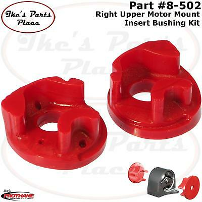 Prothane 8-516 Left Upper Motor Mount Insert Bushing Kit 92-93 Acura Integra