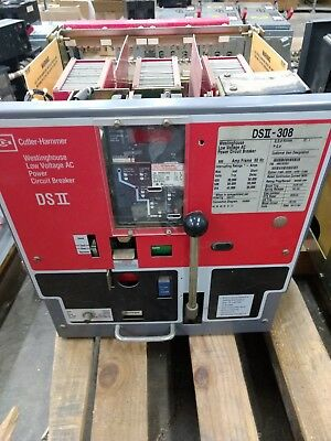 DSII-308 Cutler-Hammer Digitrip Breaker 800A with 600A RP LSIG Westinghouse