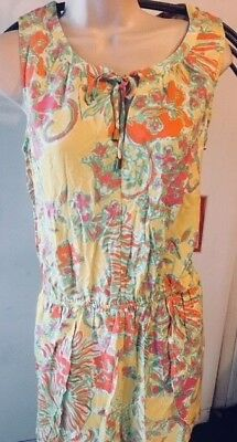 d78ab776f03 NWT LILLY PULITZER for TARGET Challis Romper Size Large Happy Place Print