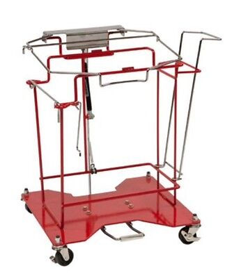 Covidien 8980FP SharpSafety Foot Pedal Cart 8Gal.