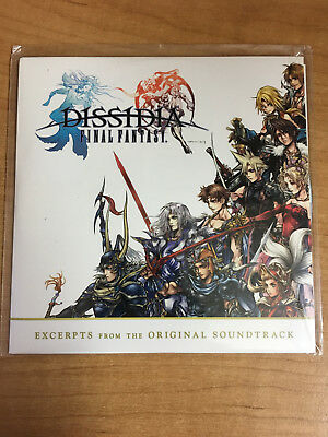 Dissidia Final Fantasy Excerpts from the Original Soundtrack (Unopened CD)
