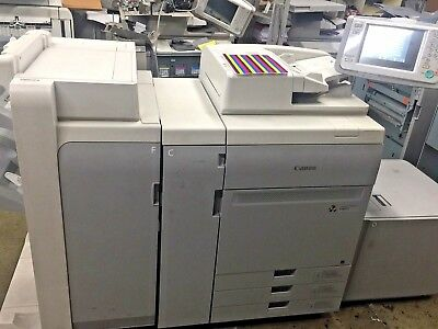 Canon  Imagepress Color C800 Copier/printer With Finisher And Server G100