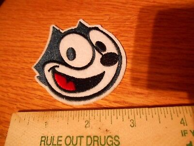 2 Felix the Cat Iron on Patches
