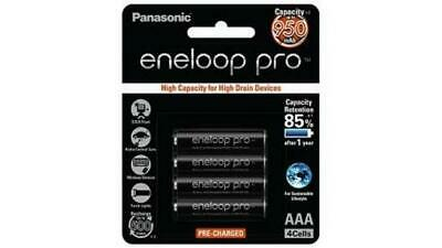 Panasonic Eneloop Pro High Capacity AAA Eneloop 950mAH x4 MADE IN JAPAN