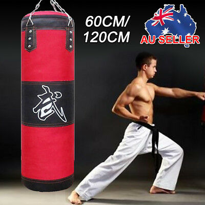 New Heavy Punching Training MMA Boxing Martial Arts Kicking Sandbag Chain AU