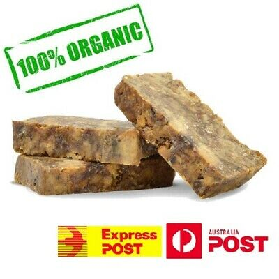 Natural Raw African Black Soap Nubian Organic Pure Acne Treatment Soft Skin