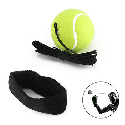 Fight Ball With Head Band For Reflex Speed Training Boxing Punch UK Seller