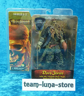Neca Figur Davy Jones Fluch der Karibik Pirates of the Caribbean / neu Serie 1