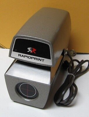 Rapidprint Are Ar-E Date Time Document Stamp W/key 2022 Date Clean Ready