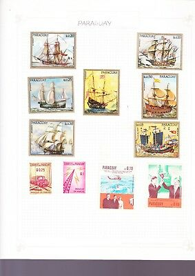 Paraguay Stamps