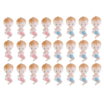 12pcs Pack Cute Baby Foot Boys Girls Party Christening Baby Shower Table Decor