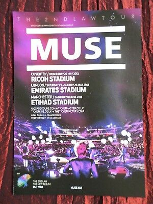 Muse - Rock Band Magazine Clipping / Cutting- 1 Full Page Advert
