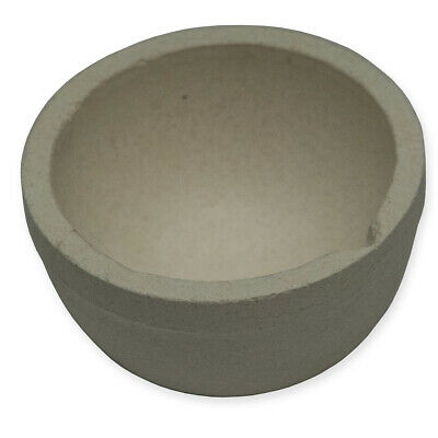 Ceramic crucible melting Dish melt casting metal gold copper silver copper round