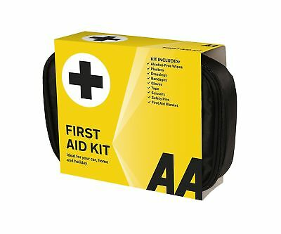 AA Soft Pouch First Aid Kit - Black AA Soft Pouch First Aid Kit