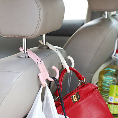 Cute Headrest Hook Car Seat Hanger Plastic Stand Organizer Parts Accessories