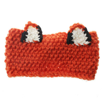 Lovely Knit Crochet Unisex Fox Animal Knit Beanie Warm Cap Fashion New