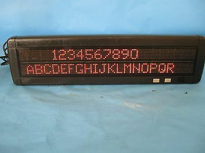 Adaptive MicroSystems Alpha PPD220RED LED Digital Display Panel,  W/PS