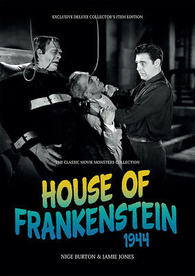 House of Frankenstein 1944 Boris Karloff Lon Chaney Jr horror movie magazine