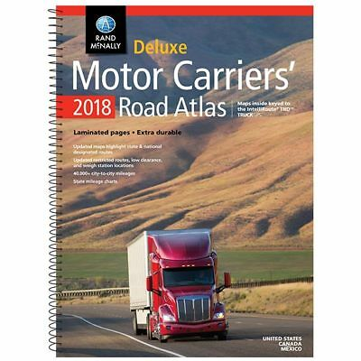 2018 Rand McNally Deluxe Motor Carriers' Atlas
